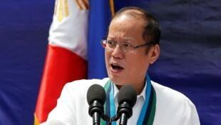 Le président philippin Benigno Aquino, en août 2014.