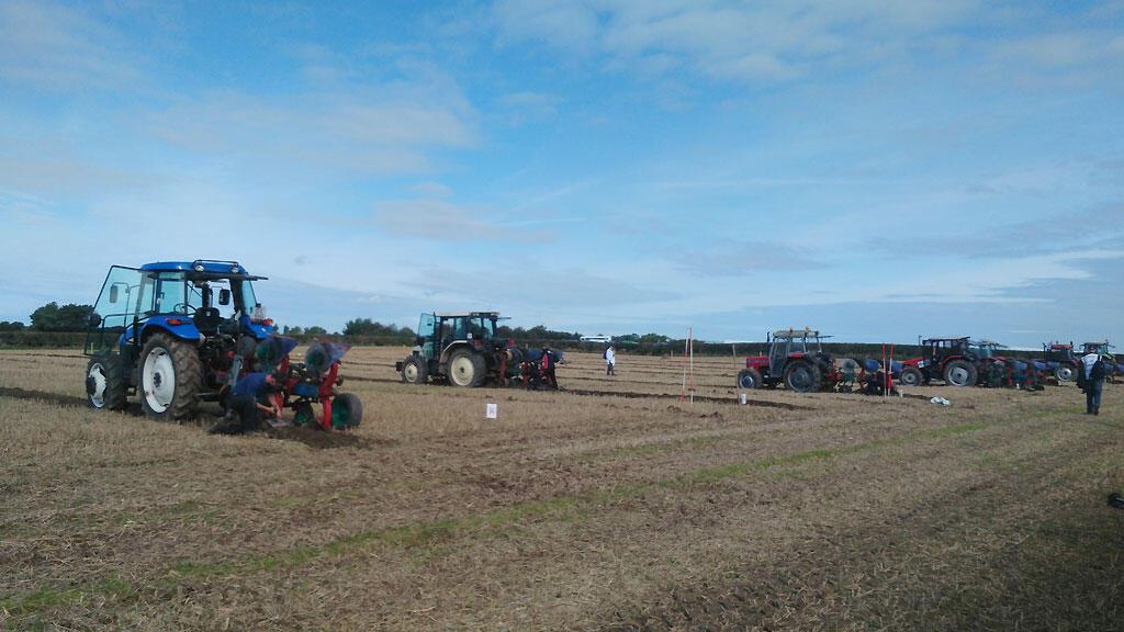 Le championnat de labour en Irlande, c'est l'occasion pour les paysans de faire la fête. Des agriculteurs qui s'inquiètent, cette année, des conséquences du Brexit.