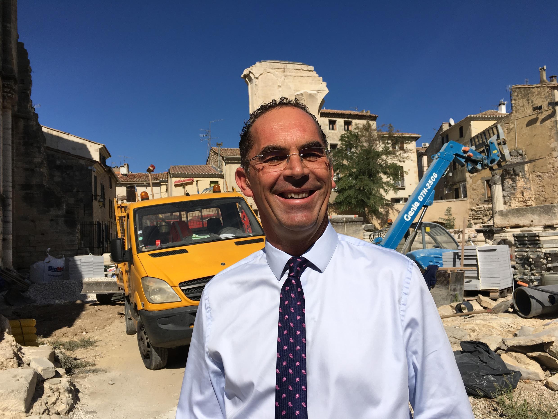 Eddy Valadier, maire de Saint-Gilles-du-Gard.