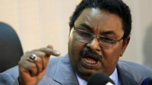 Salah Gosh, chef des renseignements soudanais.