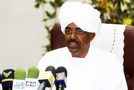 Rais wa Sudani, Omar Al bashir, akisema kutiwa hofu na hali inayojiri wakati huu Libya.