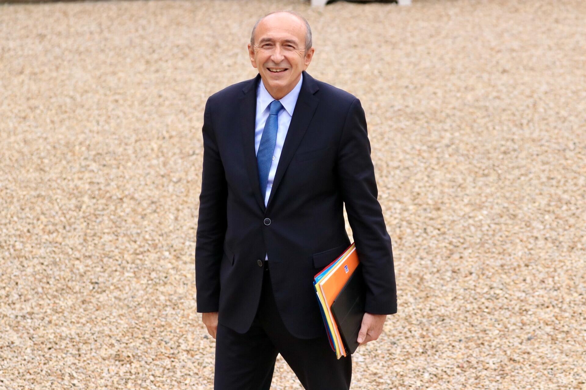 Le ministre français de l'Intérieur, Gérard Collomb.