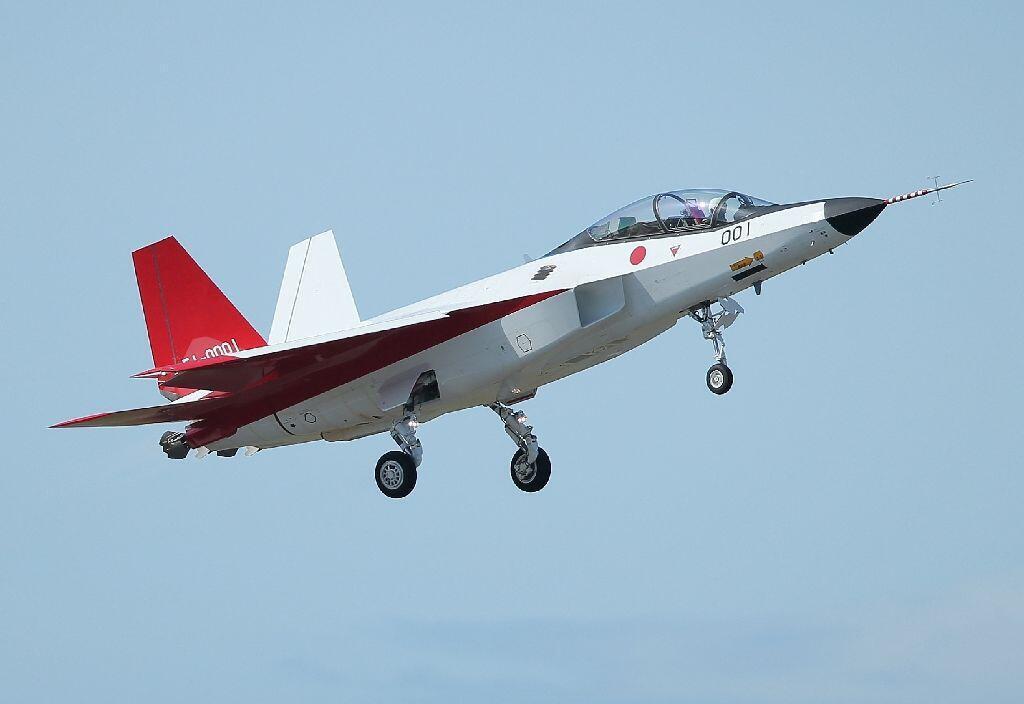 Chiến đấu cơ X-2 tối tân của lực lượng không quân Nhật Bản.