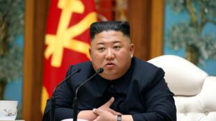 2020-04-11 Kim Jong Un NORTHKOREA-POLITICS
