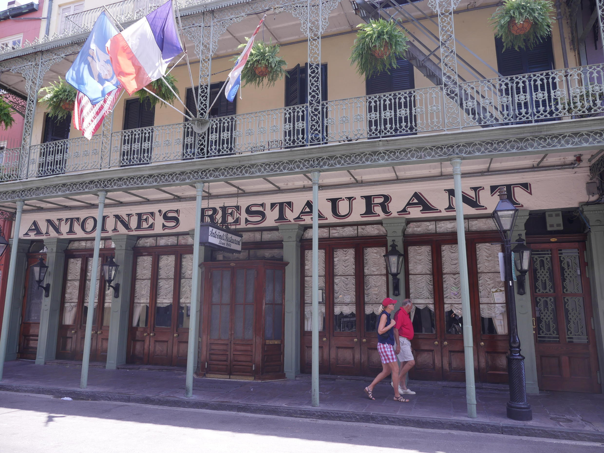 Antoine's Restaurant, in the heart of the French Quarter, is the oldest, family-run restaurant in the US. Founded in 1840 by Antoine Alciatore , this year the grande dame of French-Creole fine dining celebrates its 175th birthday!