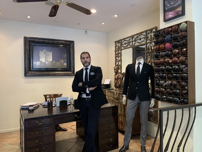 Henrique Afonso proprietário da loja Henrique Enko