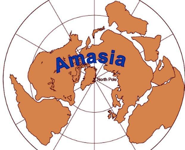 Segundo geólogos americanos, o supercontinente Amásia se formará em até 200 milhões de anos.