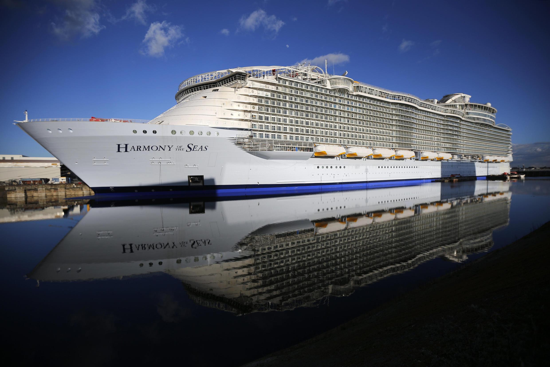 O Harmony of Seas aportou em Marselha na manhã desta terça-feira, 13 de setembro de 2016, vindo de Palma de Maiorca.