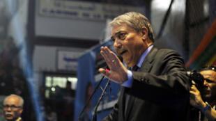 Ali Benflis (ici en 2014) estime que le scrutin sera entaché de fraude.