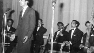 عبدالرحیم ساربان در دهۀ چهل خورشیدی: سالهای آرام رادیو کابل