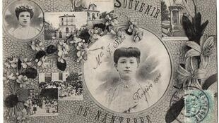 """""""Jovem virtuosa"""" eleita em festa da França, em 1906"""