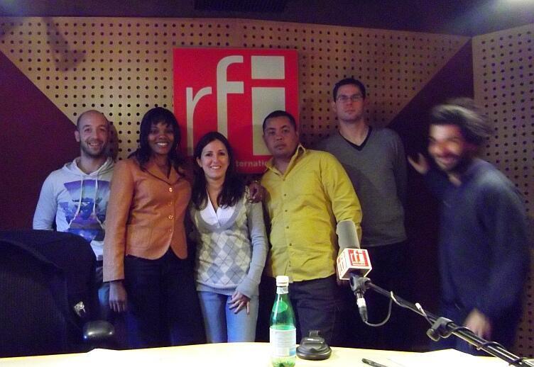 Lauréats prix RFI-RSF-OIF