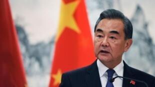 中國國務委員兼外長王毅資料圖片