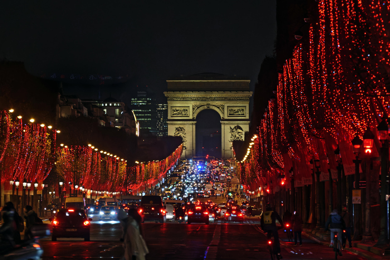 France - Paris - Illumination de Noel - 6