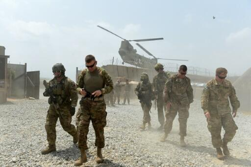 The United States has about 14,000 troops in Afghanistan working either with a NATO mission to support Afghan forces or in separate counter-terrorism operations