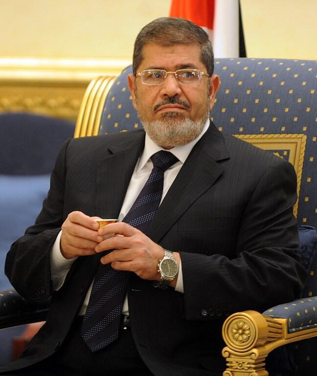 លោកប្រធានាធិបតីអេហ្ស៊ីប Morsi