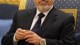 O presidente egípcio Mohamed Mursi, que se reúne com Dilma Rousseff nesta quarta-feira