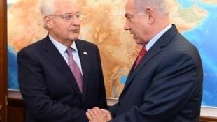 بنیامین نتانیاهو و دیوید فریدمن
