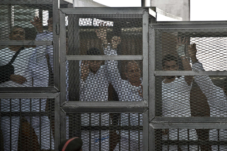 Ma'aikatan Aljazeera a gidan yari