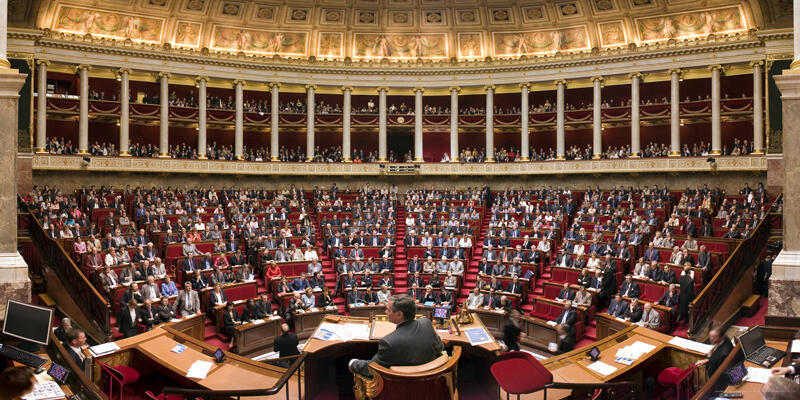 France's parliament, the Assemblée Nationale