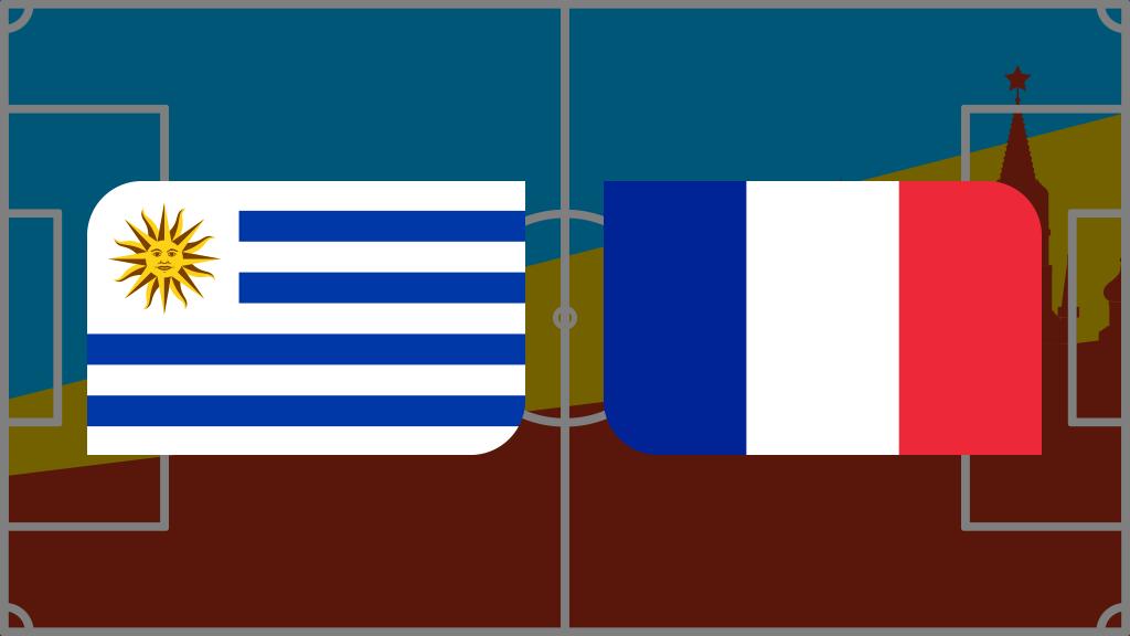 Coupe du monde 2018: vivez Uruguay-France en direct