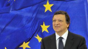 O presidente da Comissão Europeia, José Manuel Durão Barroso.