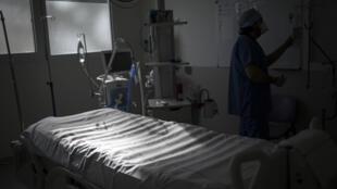 PHOTO Hôpital La Timone - Unité de soins intensifs - 2 février 2021
