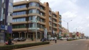 Le centre-ville de Ouagadougou