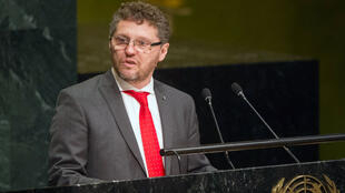 Image d'archive: Fabián Salvioli - le rapporteur spécial de l'ONU. 存檔圖片:聯合國特別報告員薩爾維奧利