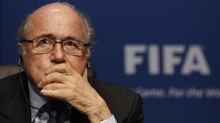 Joseph Blatter, Shugaban Hukumar kwallon kafa ta Duniya FIFA