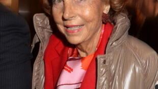 Liliane Bettencourt, January 2011. Files.