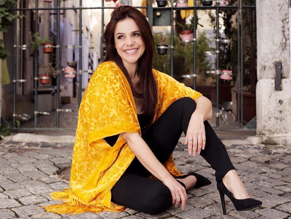 A artista portuguesa Carla Pires