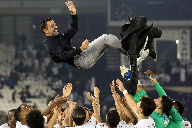Barcelona tried to recruit Xavi as their coach a week before his Qatar club Al-Saad were due to play a cup final, which they won