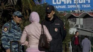 Полицейский контроль в Сочи 30/12/2013