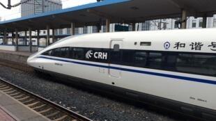 中國高鐵發展迅速