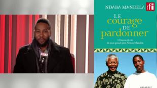 Ndaba Mandela, petit-fils de Nelson Mandela, en studio à RFI (janvier 2019).