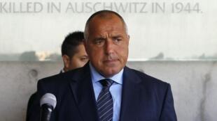 Boiko Borisov, primeiro-ministro da Bulgária