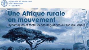 Page de garde de l'atlas des migrations rurales en Afrique sub-saharienne (capture d'écran).