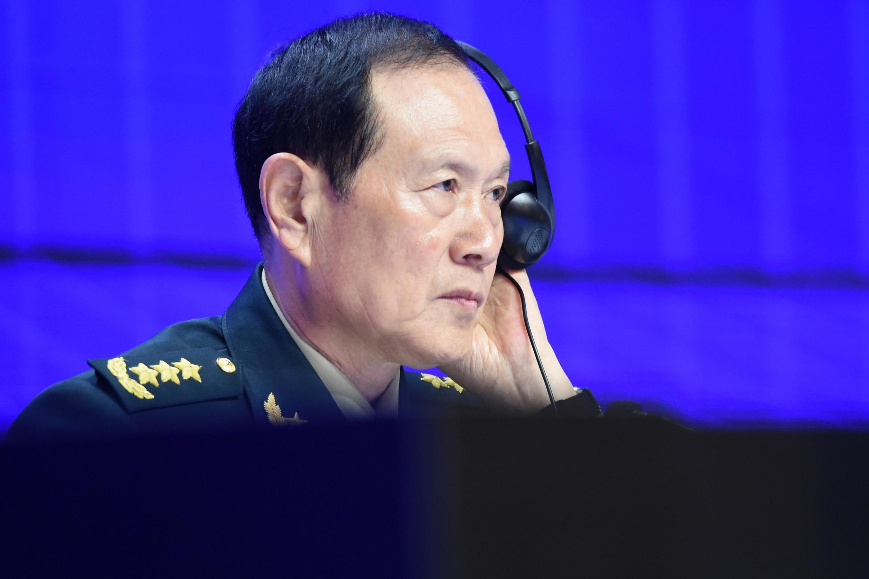 Bộ trưởng Quốc Phòng Trung Quốc Ngụy Phượng Hòa (Wei Frenghe), tại Đối thoại Shangri-La, Singapour, ngày 02/06/2019