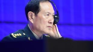中国防长魏凤和在香格里拉安全论坛2019年6月2日新加坡