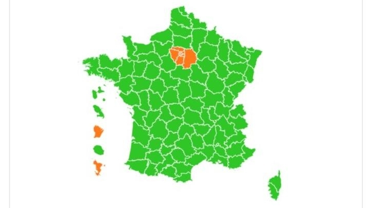 What Does France S Colour Coded Covid 19 Map Mean For Overseas Travel