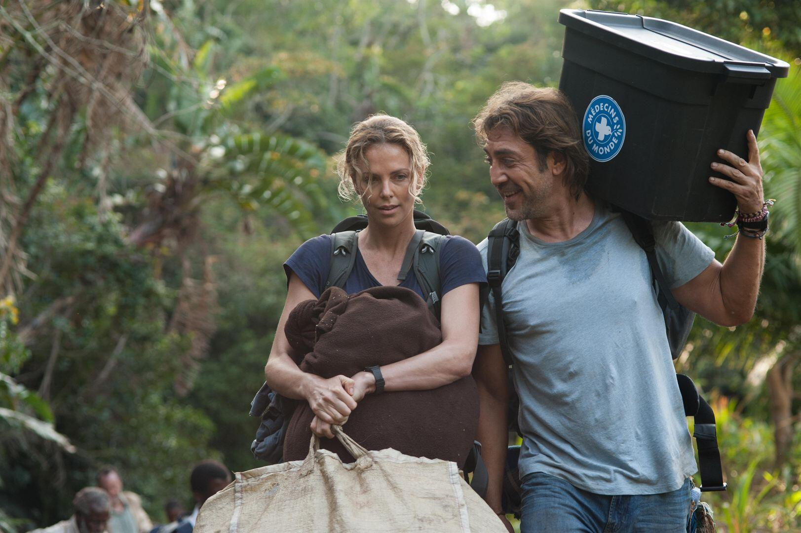 « The Last Face », film de Sean Penn avec Charlize Theron et Javier Bardem.