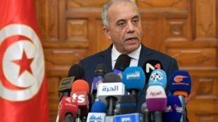 Habib Jemli annonce la composition de son gouvernement, le 2 janvier 2020.