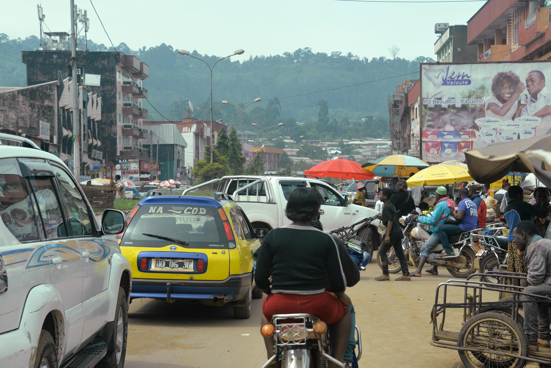La ville anglophone de Bamenda. La présence des forces de sécurité, déjà importante dans les régions parlant anglais, s'est considérablement renforcée ces derniers jours.