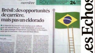 O Brasil é um eldorado para os trabalhadores franceses se questiona o Les Echos.