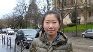 中國女學生靜。