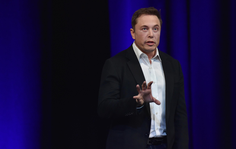 Le milliardaire entrepreneur et fondateur de Tesla Elon Musk le 29 septembre 2017.