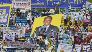 Kanfain na shugaba Idriss Déby na kasar Chadi