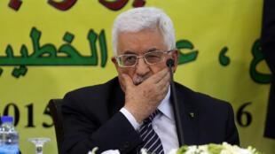 Shugaban Falasdinawa Mahmoud Abbas
