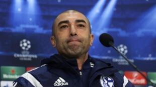 Roberto Di Matteo na  Schalke 04 .